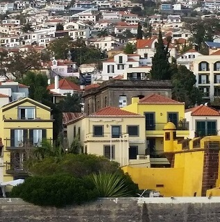 Old town in Funchal