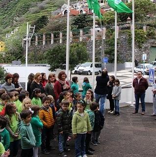 Porto Moniz hoists green flags