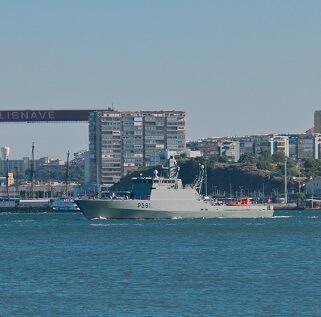 NRP Douro arrives next week